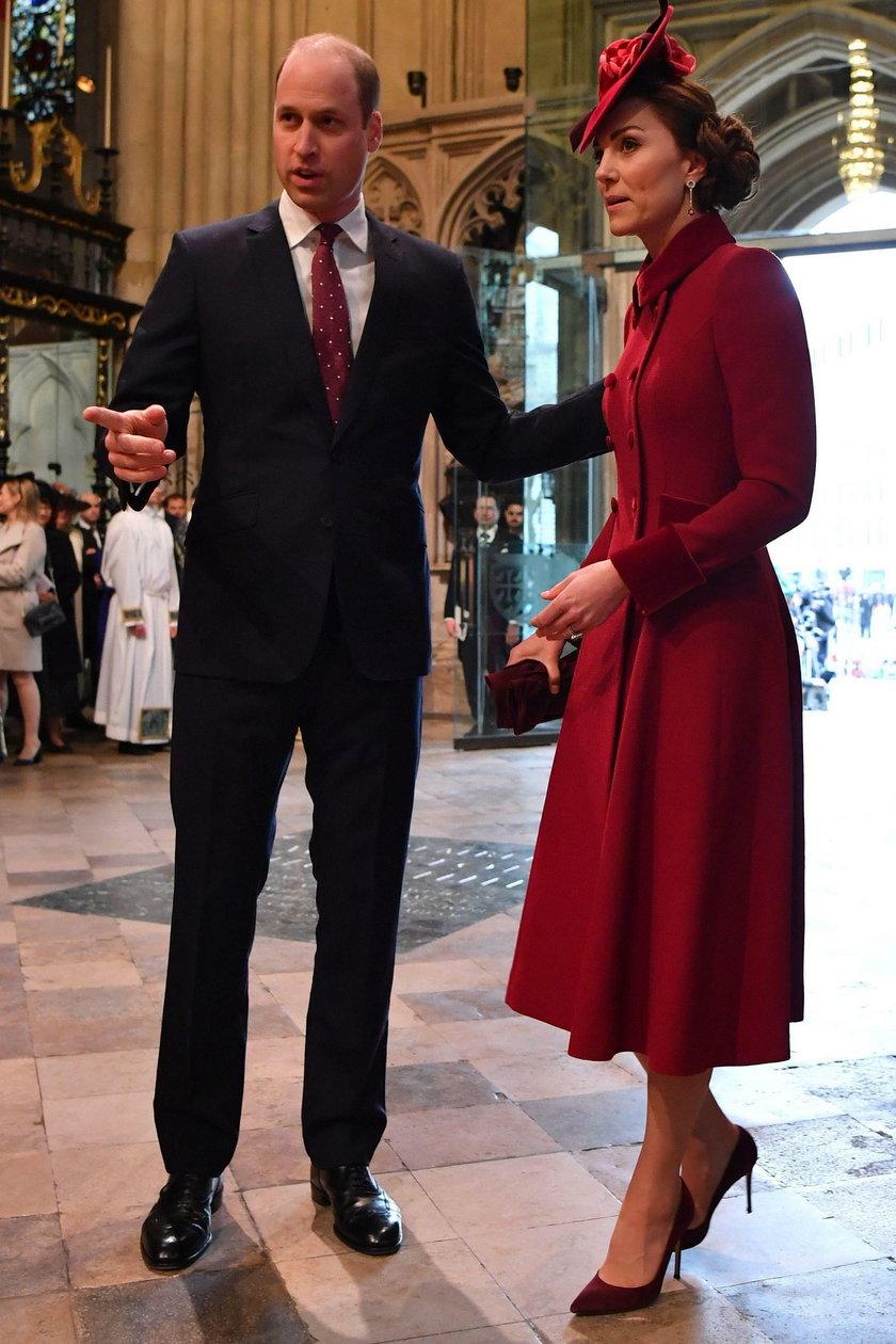 KsiążęWilliam i księżna Kate