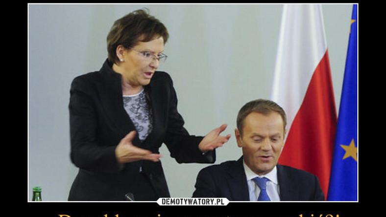 zdaniem Janusza Palikota, Ewa Kopacz popełniła już więcej błędów niż Tusk przez siedem lat. Tymczasem były premier nie kwapi się, by pomóc koleżance, którą niejako wpakował na minę.