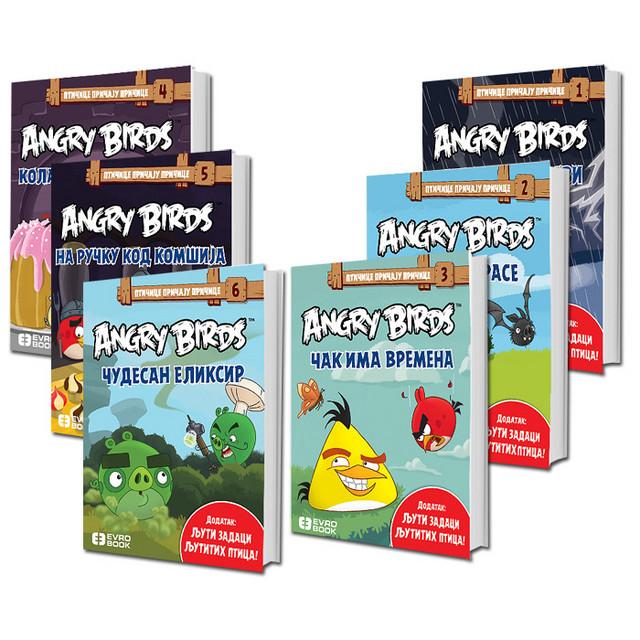 Ptičice Pričaju Pričice – Angry Birds komplet 6 knjiga