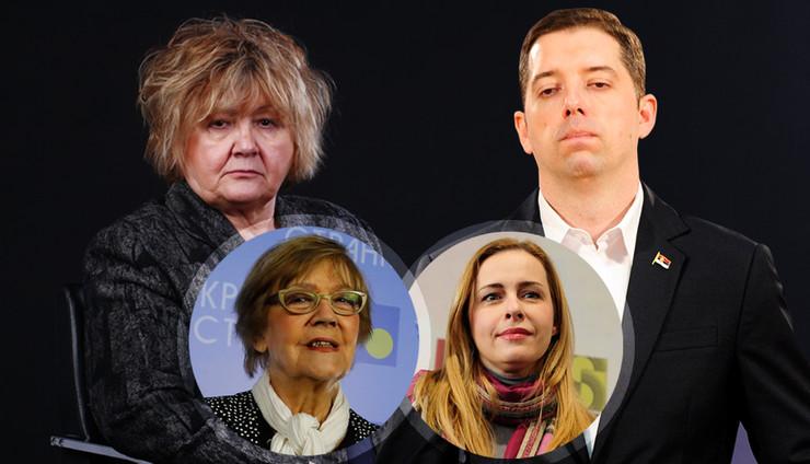 trajkovic pesic maljevic djuric kombo RAS Dusan Milenkovic, Mitar Mitrovic, Vesna Lalic
