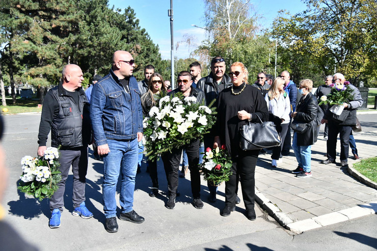 Bora Drljača - sahrana