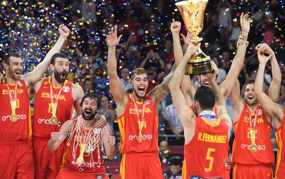 Šampioni sveta - košarkaši Španije