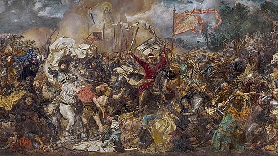 Bitwa pod Grunwaldem, Jan Matejko - domena publiczna