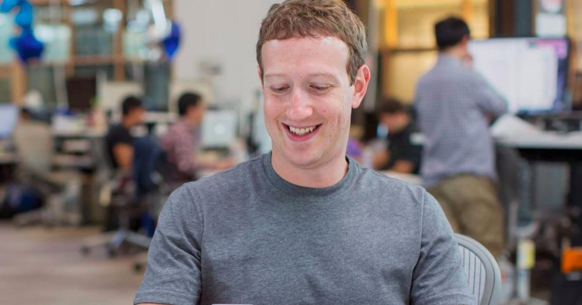 This looks like Mark Zuckerberg's secret TikTok account, which follows celebrities and famous internet creators - Pulse Nigeria