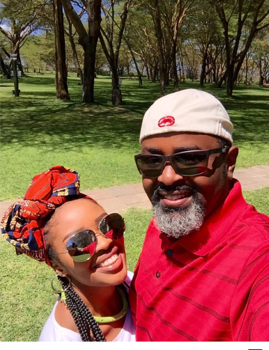 I wish to enjoy a private marriage - Kambua Mathu (Instagram)