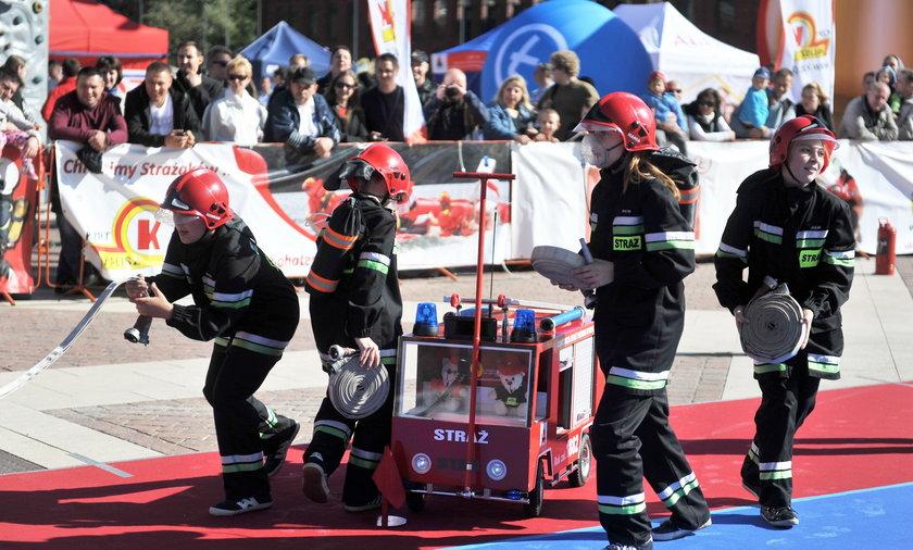 dzieciąca drużyna strażacka wieruszów