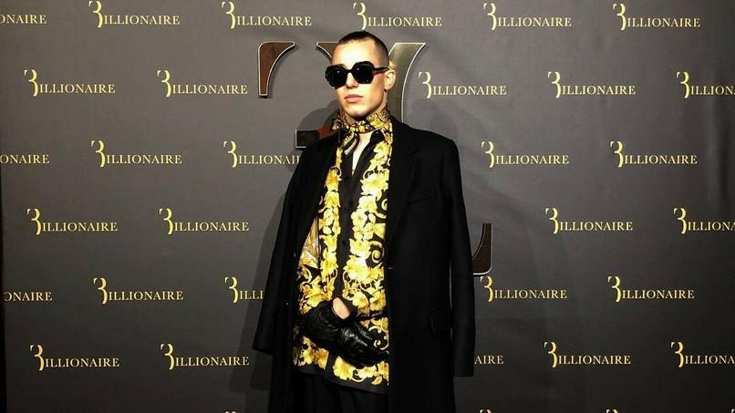 d141bad11324 Żabson na tygodniu mody w Mediolanie