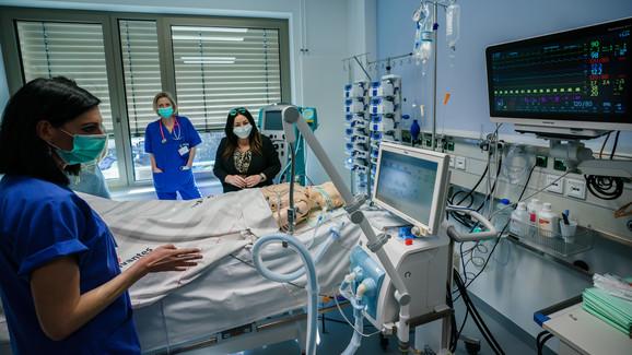 Za najteže pacijente zaražene koronom respirator znači život