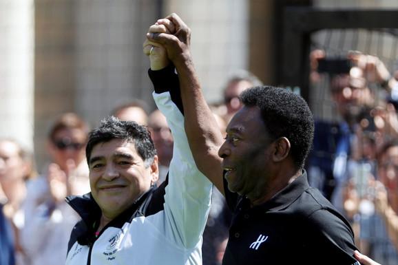 Maradona i Pele
