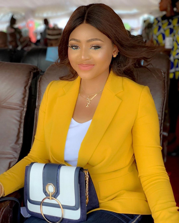 Regina Daniels has not come out to accept or deny the claims that she is married [Instagram/ReginaDaniels]