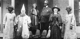 Straszne przebrania na Halloween sprzed lat