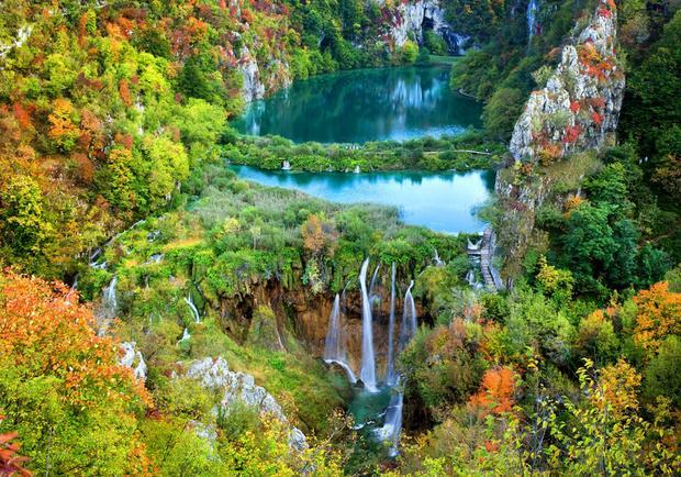 Chorwacja, Jeziora Plitwickie