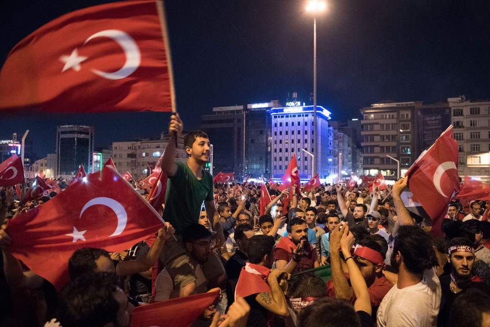 TURKEY COUP ATTEMPT (Attempted coup d'etat in Turkey)
