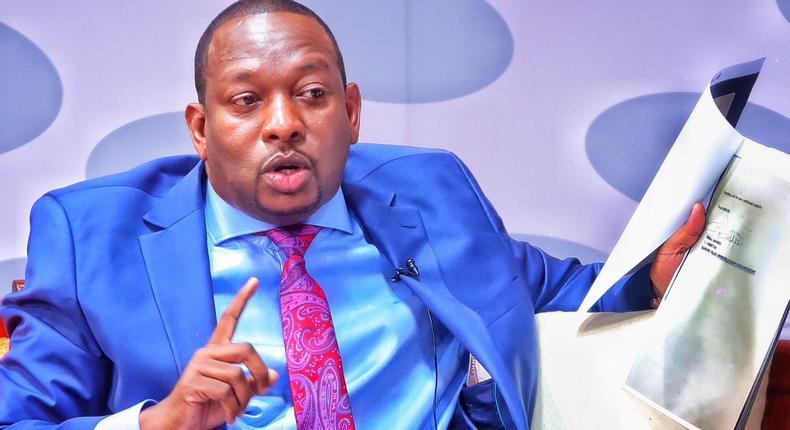 Nairobi Governor Mike Sonko during the JKLive show