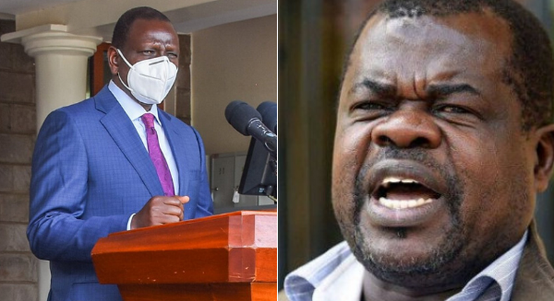 DP William Ruto shares tribute after lawyer-activist Okiya Omtatah lost his daughter