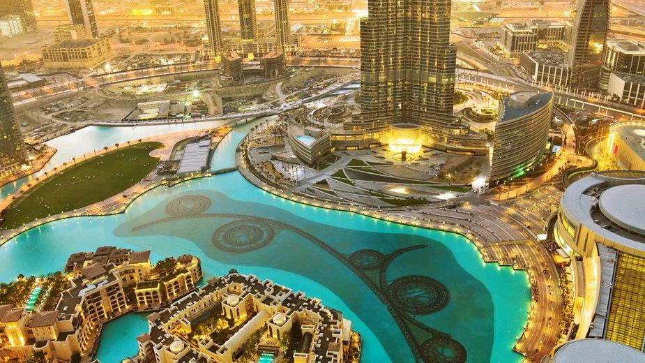 Zjednoczone Emiraty Arabskie Dubaj