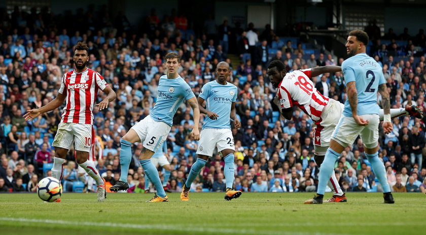 Premier League - Manchester City vs Stoke City