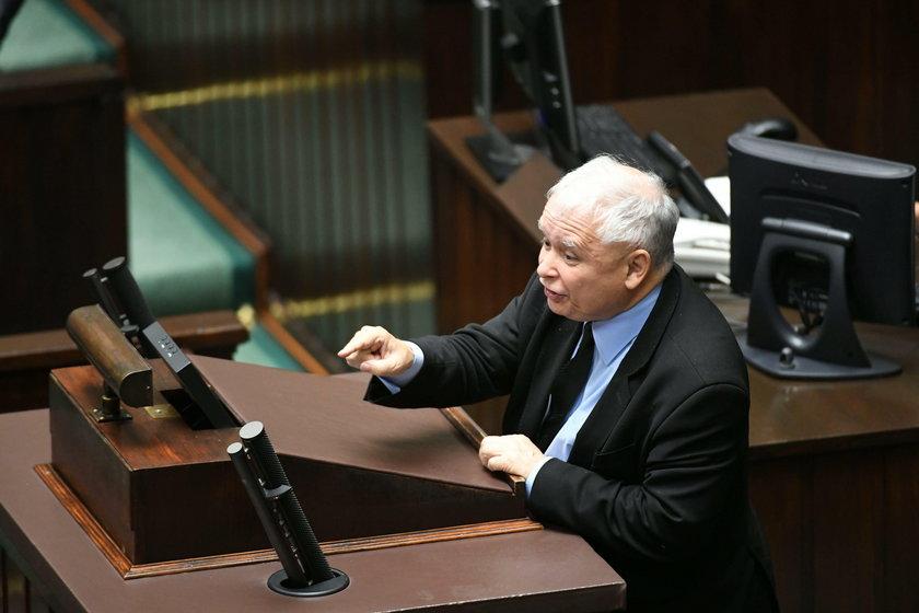 Kaczyński do opozycji: jesteście kanaliami!