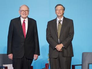 Warren Buffett i Bill Gates w 2010 roku