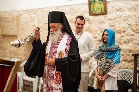 Aleksa Balašević sa izabranicom u Izraelu, veridba