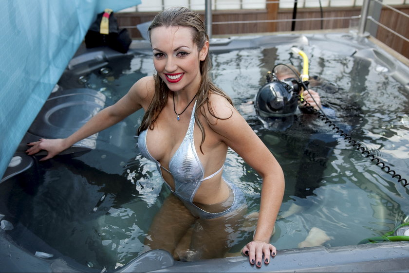 Rosanna Davidson w wodzie