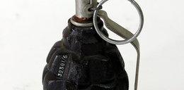 Granat z II wojny światowej znaleziony w szopie
