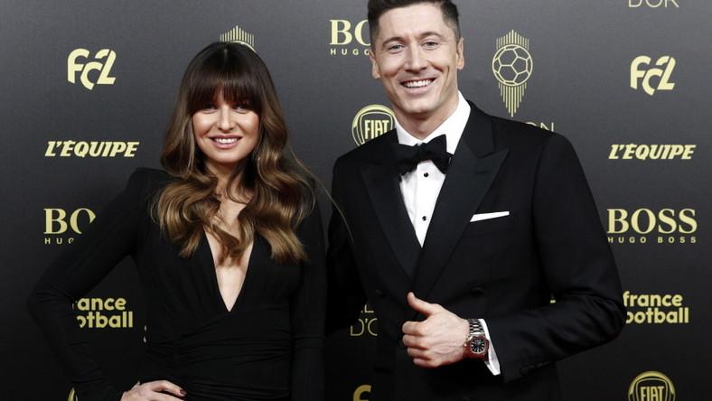 """Para wzięła wczoraj udział w gali plebiscytu Złota Piłka magazynu """"France Football"""" Zło..."""
