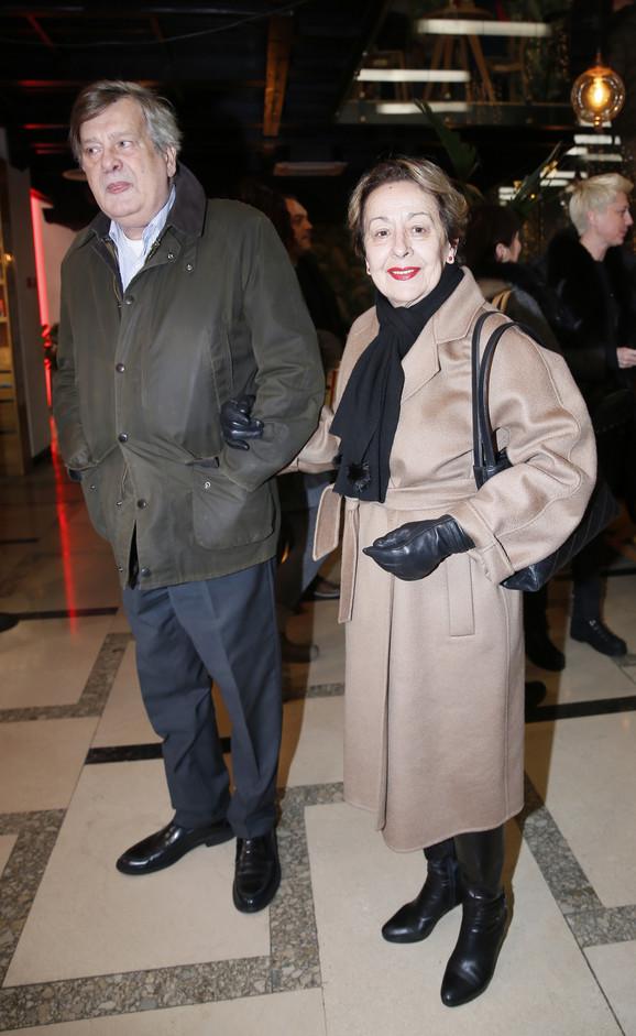 Svetlana Bojković sa suprugom