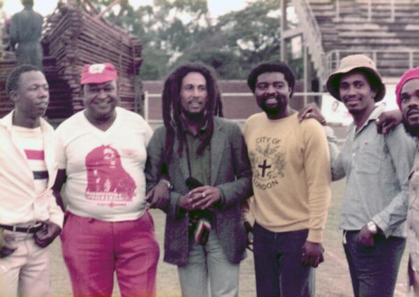 Bob Marley and the Wailers in Zimbabwe at 1980