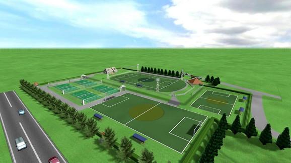 animacija sportskog kompleksa na zlatiboru