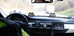 Pościg na A4. Policjanci ścigali złodzieja samochodu