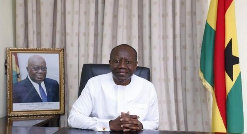 Ghana's Finance Minister, Ken Ofori Atta