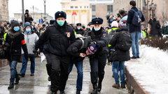 14-latek zatrzymany podczas protestów w Moskwie