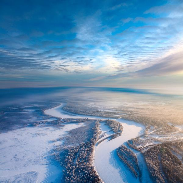 Bezkresne krajobrazy Syberii