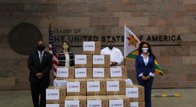 Coronavirus: The United States provides 20 ventilators to Zimbabwe to respond to COVID-19