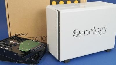Synology DiskStation DS218j im Test: solides NAS-Komplettpaket