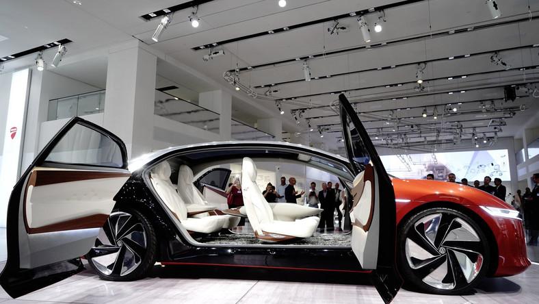 Autonomiczny Volkswagen ID. VIZZION