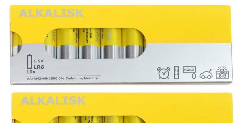 """IKEA rezygnuje ze sprzedaży jednorazowych baterii. """"5000 ton toksycznych odpadów mniej"""""""