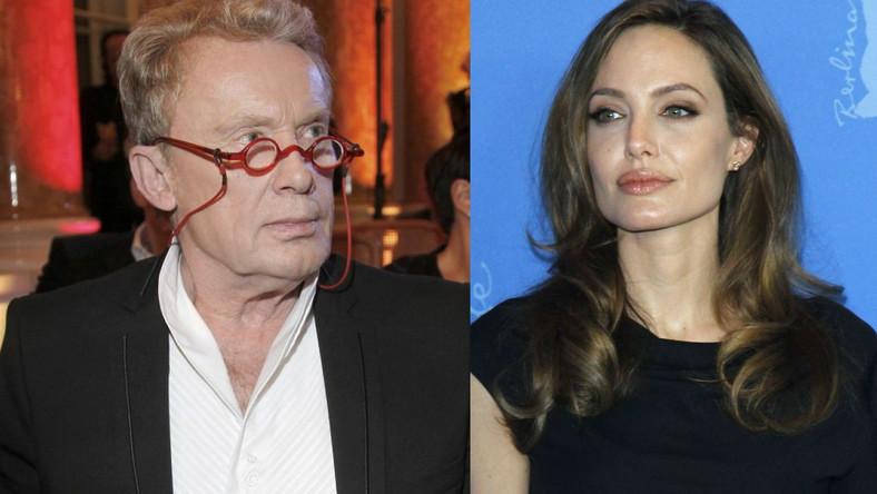 Daniel Olbrychski, Angelina Jolie