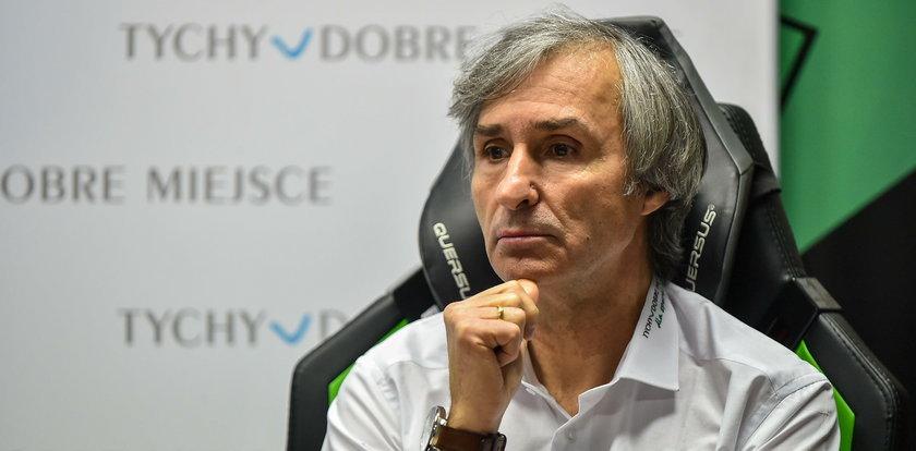 GKS Tychy przed 1/4 Pucharu Polski zwolnił trenera. Nowym szkoleniowcem został dotychczasowy dyrektor sportowy
