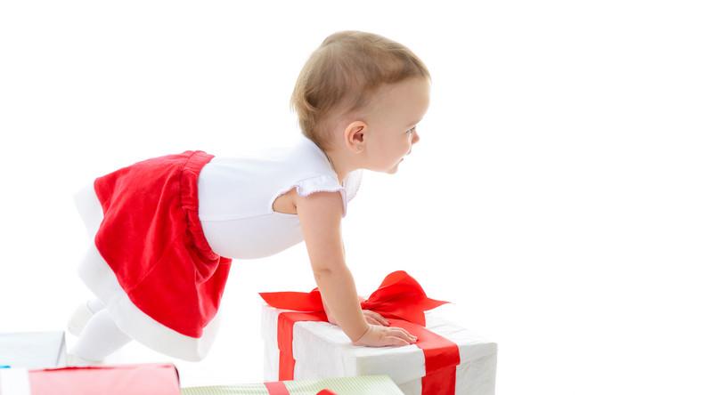 Dziecko i prezent