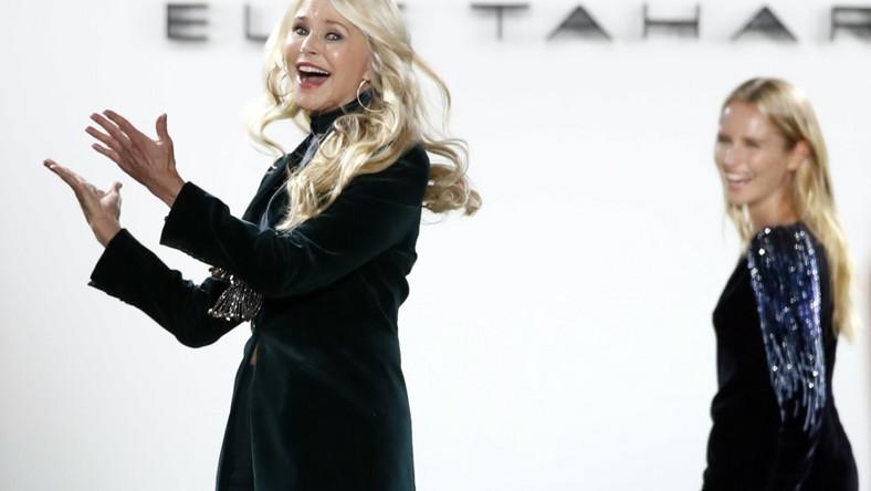 Panie poszły razem w jednym z pokazów na New York Fashion Week...