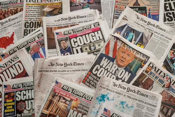 Tramp često kritikuje novinare zbog