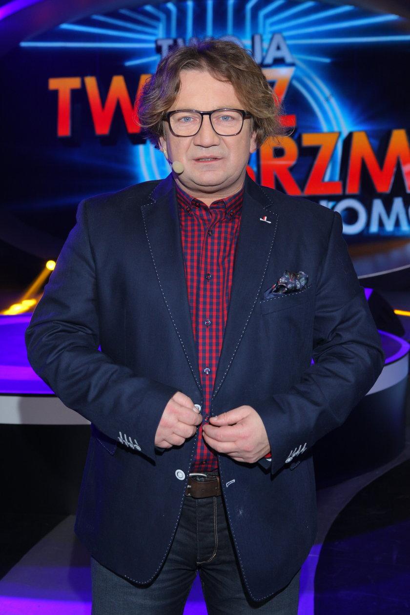 Paweł Królikowski w show Polsatu
