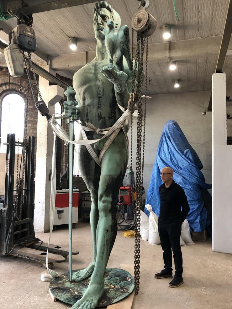 pobednik restauracija atelje vajar zoran kuzmanović smederevo