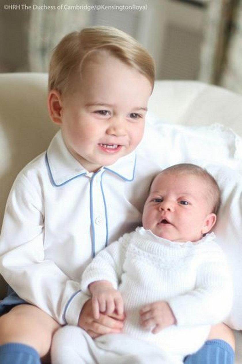George z Charlotte Elizabeth Dianą