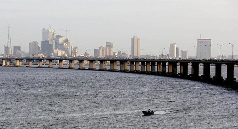 Lagos Third Mainland Bridge, Lagos (Premium times)