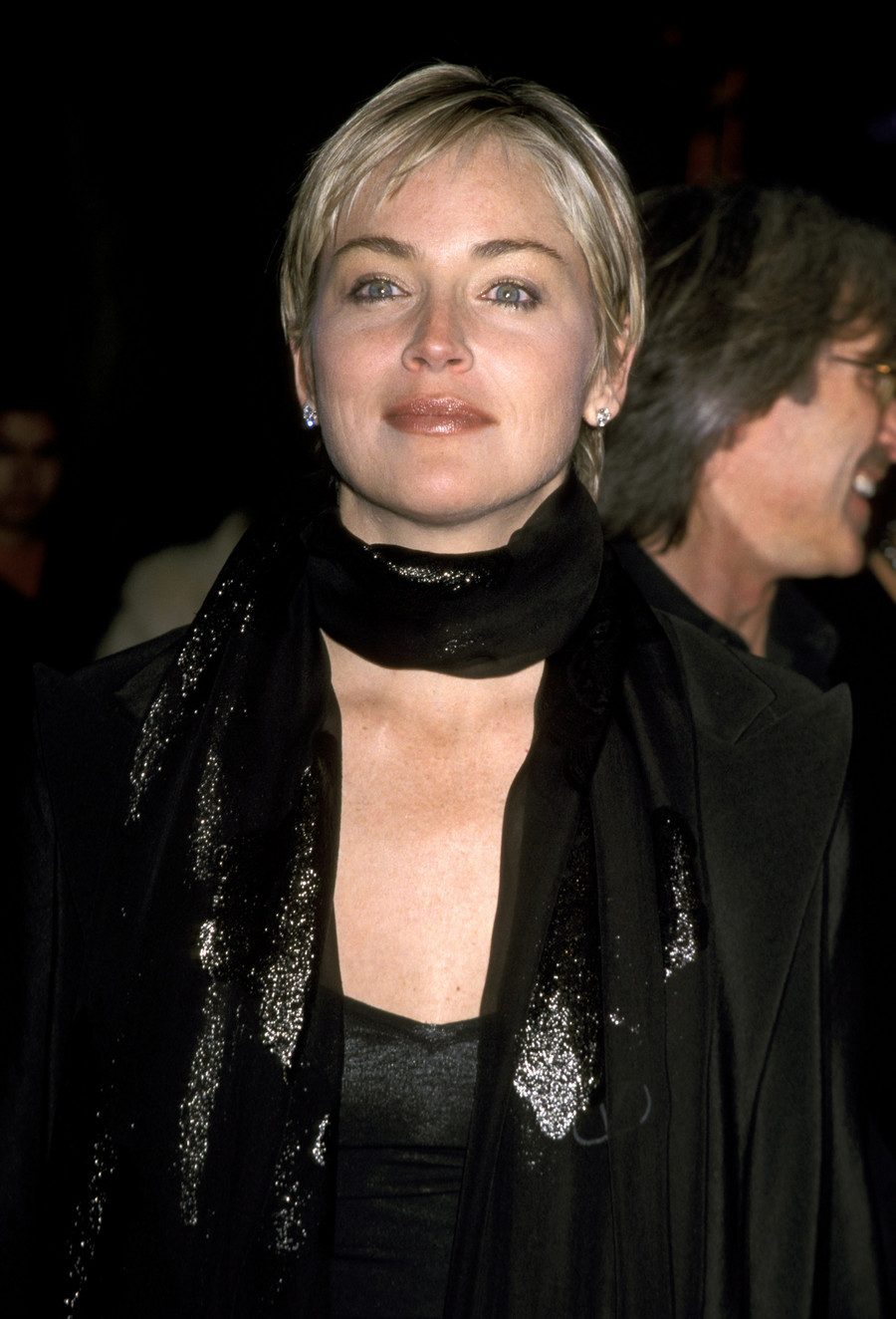 Sharon Stone w latach 90. / Getty Images / Jim Smeal