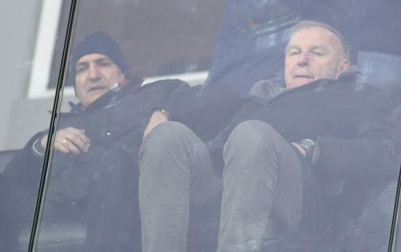 Mitar Mrkela i Dragan Džajić