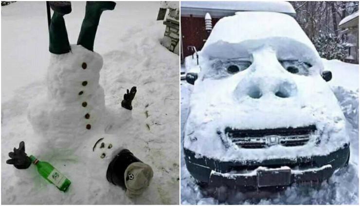 Sneg zabava BiH
